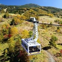 標高2,377Mの坪庭まで約7分の空中散歩♪(北八ヶ岳ロープウェイ)