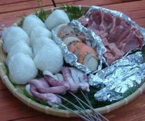 炭火焼バーベキュー(肉類)