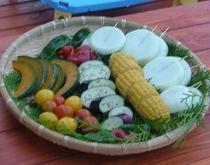 炭火焼バーベキュー(野菜)