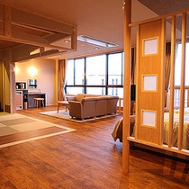 当館で一番広いお部屋【和洋室76㎡】