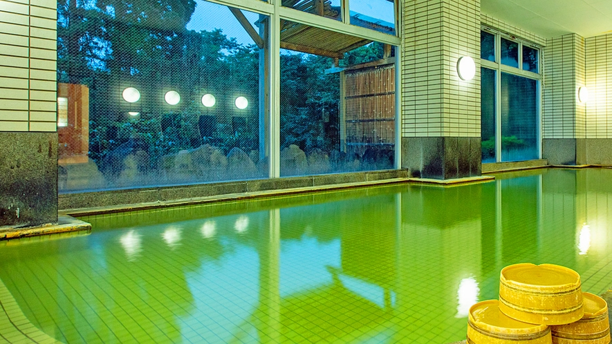 源泉かけ流し温泉~大浴場