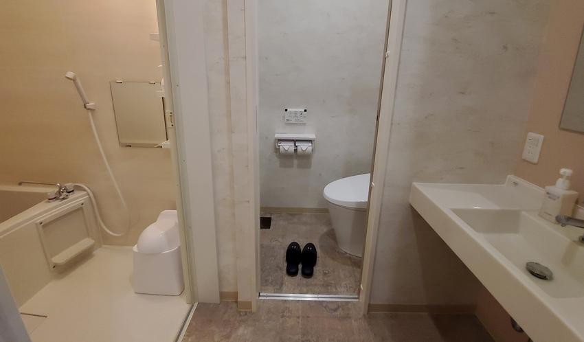 [禁煙室]リラックスツイン洋室 ≪36平米≫ 浴室