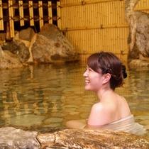 ラジウム温泉大浴場