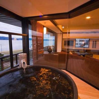 3階MINAMO露天風呂付和洋室◆季節の会席料理◆1泊2食付プラン