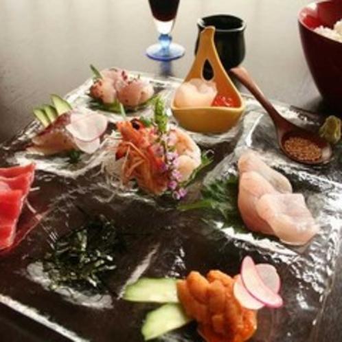 海鮮丼造り