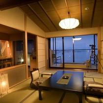 特別フロア水と雲の抄露天風呂付和洋室「雲の3号室」