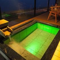 特別フロア水と雲の抄露天風呂付和洋室「雲の6号室」