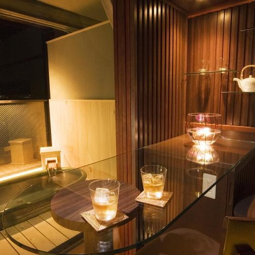 特別フロア水と雲の抄露天風呂付和室8畳「雲の7号室」