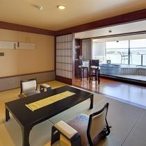 特別フロア水と雲の抄露天風呂付和室10畳「雲の2号室」