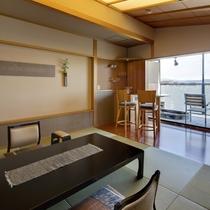 特別フロア水と雲の抄露天風呂付和室8畳「雲の5号室」