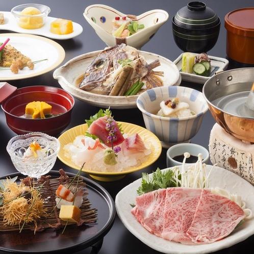 季節の会席料理秋冬イメージ