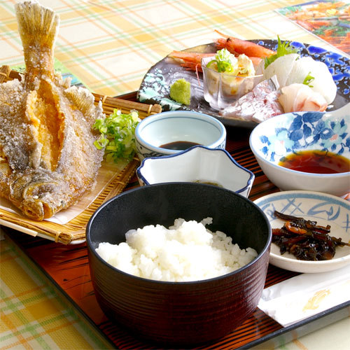 ■レストラン漁連の料理一例■