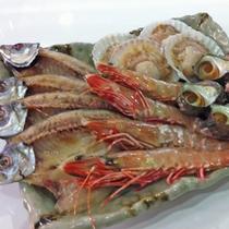 BBQプラン…オプションで海の幸も追加できます!(別途1,000円)