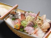 ■地魚の舟盛り