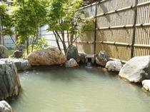 ■隣接の日帰り温泉「あぽん西浜」露天風呂