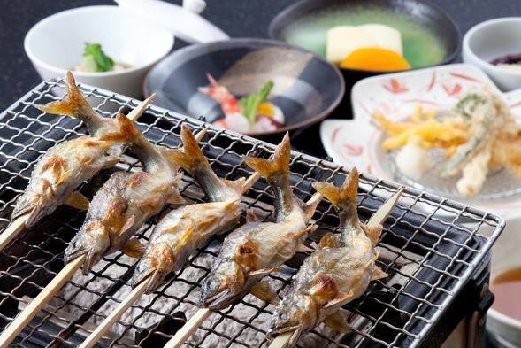 庄川の夏の味覚 鮎づくし会席 ★お部屋食