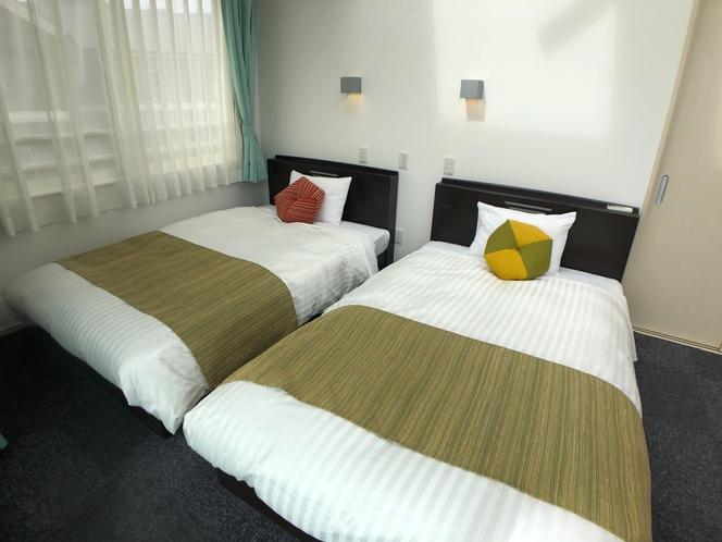ミント ベッドルーム2