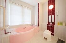 ラベンダー・浴室