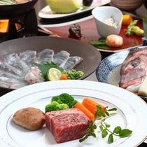 A5ランク以上の伊予牛やブランド肉のステーキをご提供