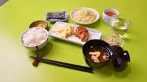 *[朝食一例]ご朝食は斜め向かいにある姉妹館「山田荘」でお召し上がり下さい