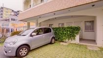 *[駐車場]ホテル目の前にある駐車場は3台分。満車の場合は近くの駐車場をご案内しております。