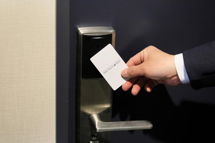 全室カードキーシステム