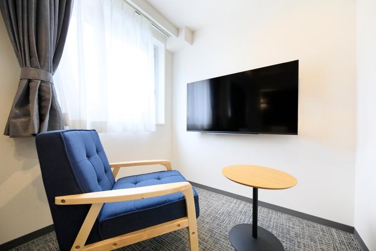 50インチ大型テレビ(スタンダードツインルーム)