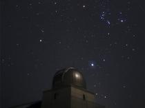 【ひろのまきば天文台】夜空に広がる満天の星空