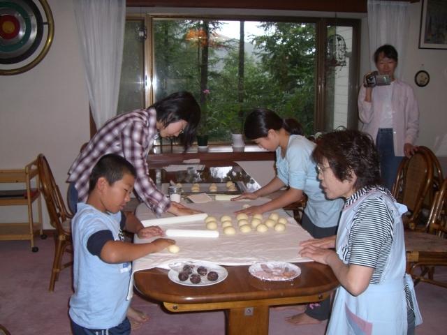 手作りパン体験