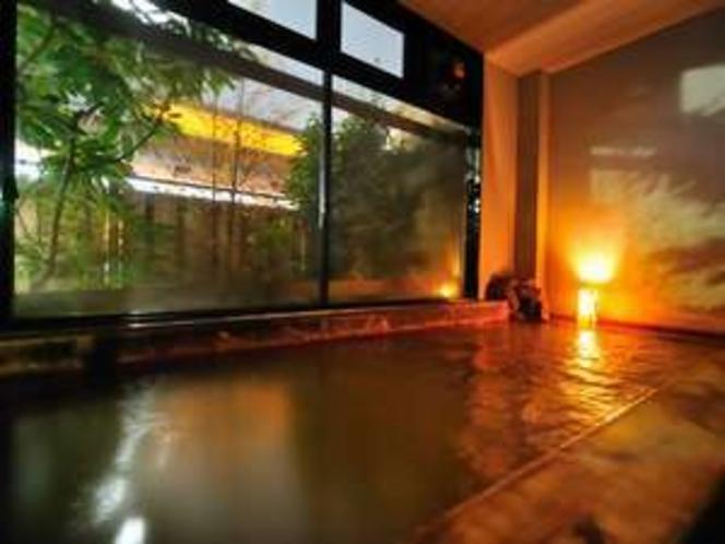 宿に居ながらにして湯巡りできる事で人気が高い。