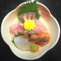 ☆料理_夕食_刺身盛り合わせ