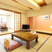露天風呂付客室 和室