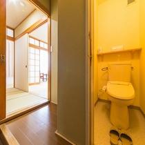 本館和室10畳 トイレ