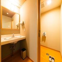 新館和室12畳のトイレ
