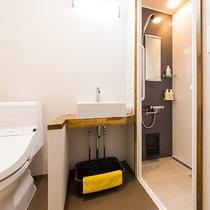 本館モダン和洋室 シャワー・トイレ