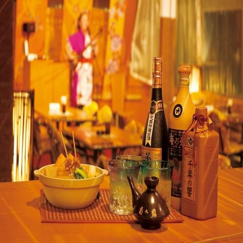 海辺の居酒屋「島唄」