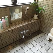【家族風呂】*洗い場