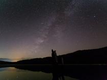 丸沼の星空