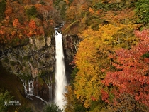 環湖荘と同じ営業所の華厳の滝です。
