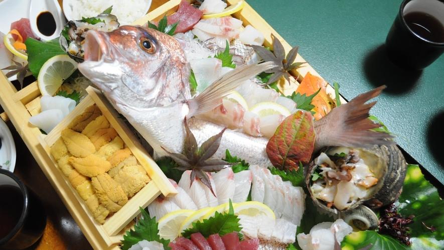 ◆グレードアップ懐石は瀬戸内の新鮮な魚が楽しめます☆(イメージ)