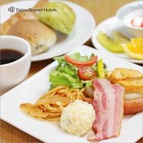 朝食 洋セット例