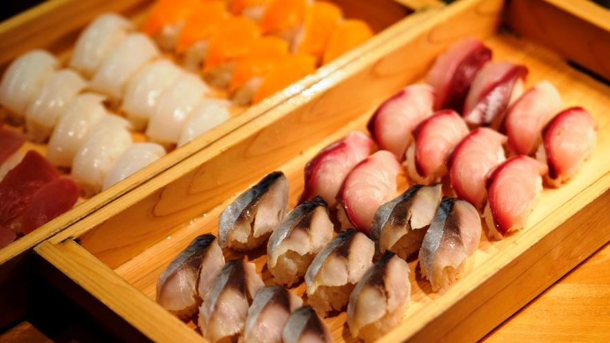 夕食一例 お寿司