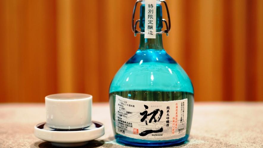 ホテルオリジナル日本酒「初一」大吟醸