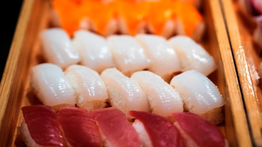 夕食一例 お寿司コーナー