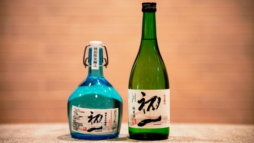 ホテルオリジナル日本酒「初一」純米・大吟醸