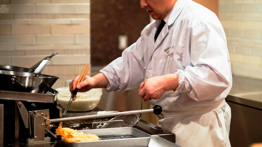 ライブキッチン 天ぷら