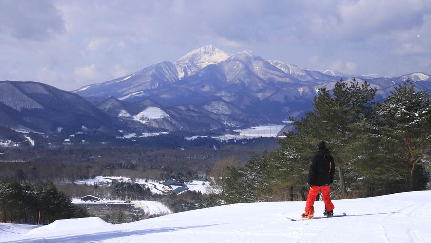 ■周辺観光/ウィンタースポーツ_各スキー場までアクセス良好!楽しんだ後は温泉で癒やされましょう♪