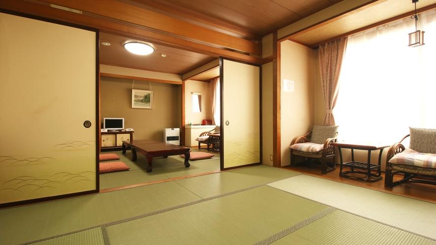 ■客室・2間_ゆとりのある正統派客室。