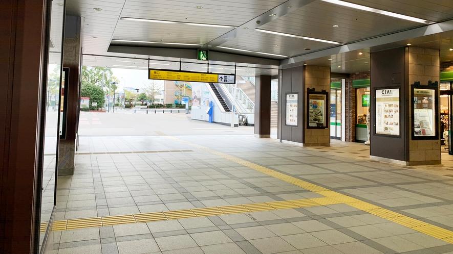 【アクセス】JR桜木町駅からホテルまで②