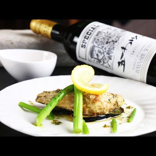 【魚料理】いとよりのガーリックソース